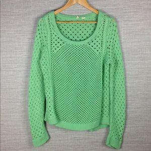 Moth Anthropologie Open Weave Sweater